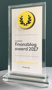 Finanzblog Award für Finanztip
