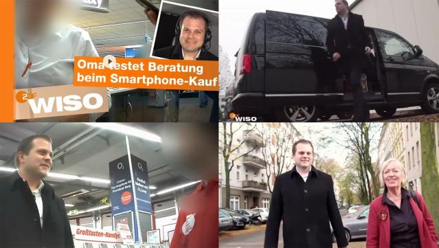 Daniel Pöhler in der ZDF-Verbrauchersendung Wiso