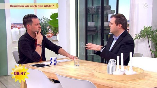 Daniel Pöhler beim Sat.1 Frühstücksfernsehen